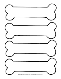picture relating to Printable Dog Bones titled puppy bone template printable - Google Appear Paw patrol
