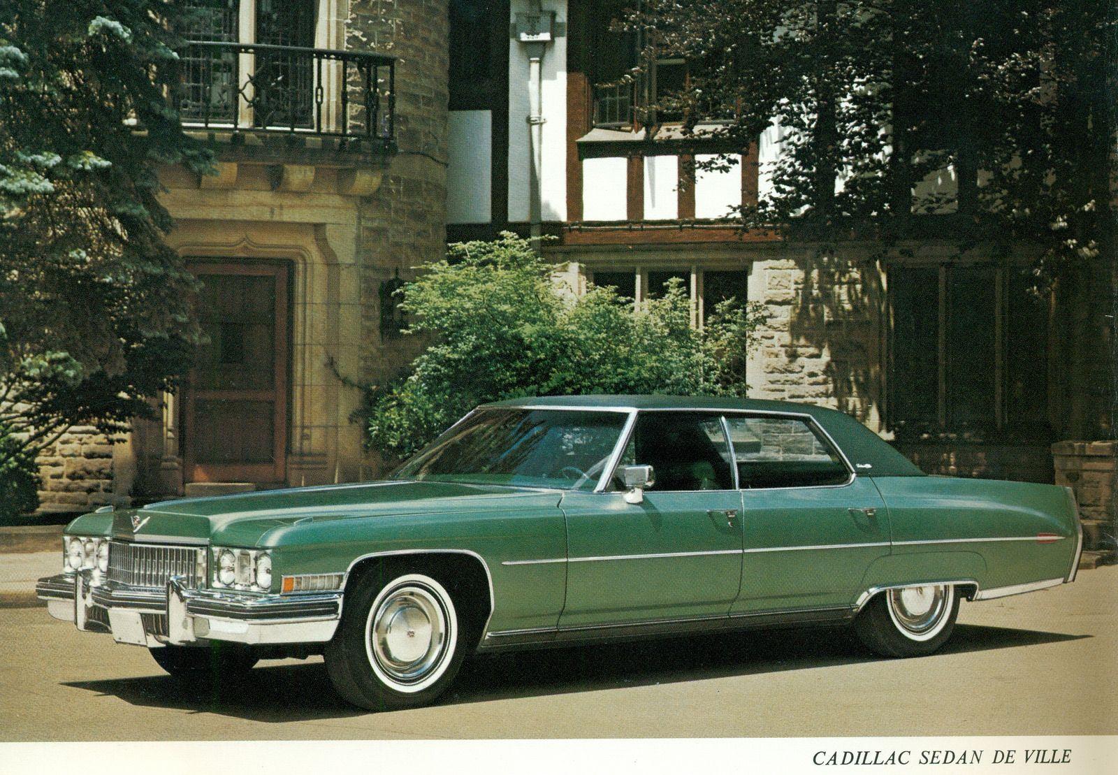 1973 Cadillac Sedan DeVille Green Cars Car Restoration Retro Cars Vintage Cars