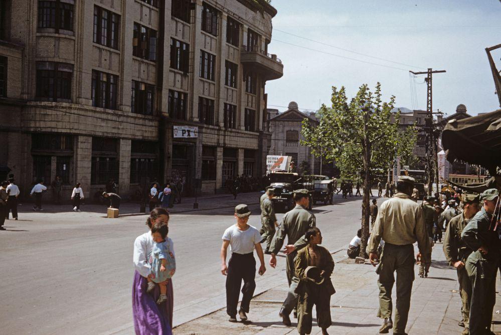 韓国人「1953年のソウル市内を写した貴重なカラー写真」→「日本式の ...