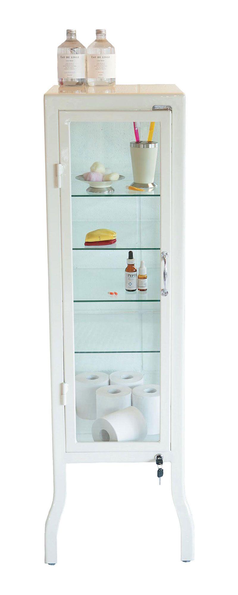 Single Door Doctor S Cabinet Dulton Bathroom Glass Cabinet Doors Old Medicine Cabinets Display Cabinet