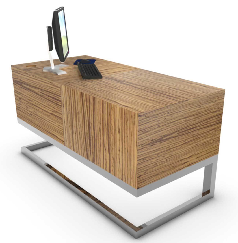 Workstation Desk Design modern wooden home office furniture design. work desk design cool