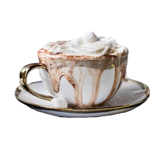 Hot Chocolate Tea Cup White Brown Polyvore Moodboard Filler Chocolate Tea Hot Chocolate Parisian Cafe