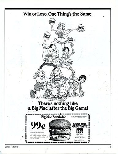 1976 mcdonald s vintage magazine ad win or lose one t