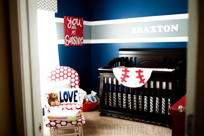 Loving This Baseball Nursery Room