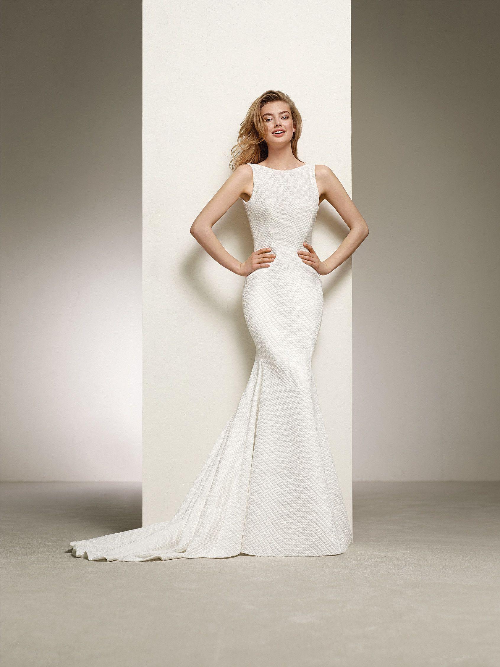 Brautkleid im klassischen Meerjungfrau-Stil | Hochzeitskleider ...