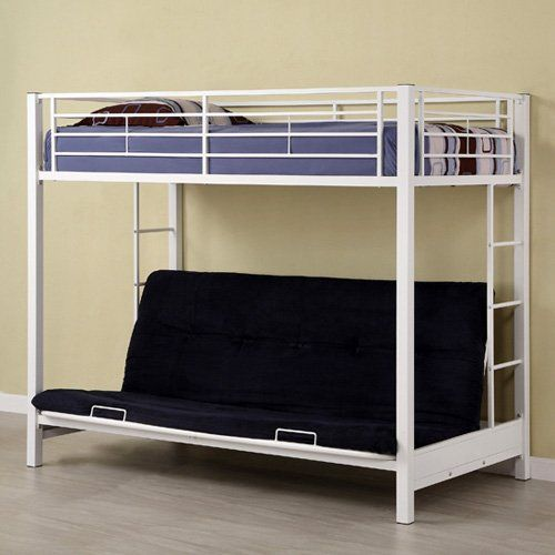 Have to have it Sunrise Twin over Futon Bunk Bed White 44900