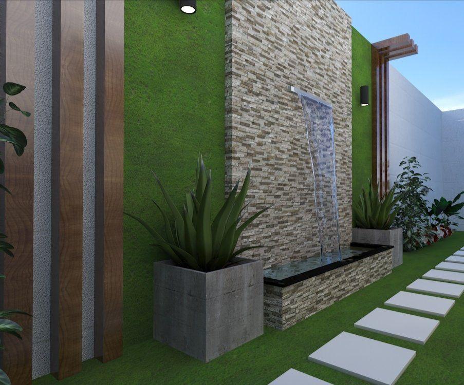 المعماري احمد بامطرف On Twitter Landscape Design Backyard Landscape