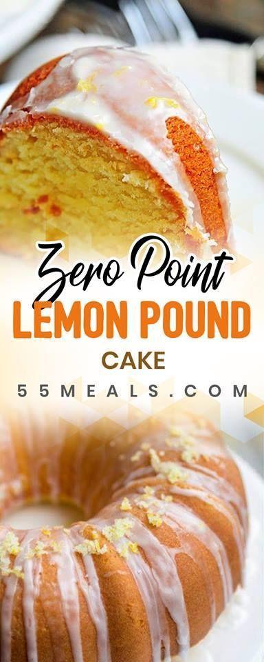Weight Watchers Freestyle Lemon Pound Cake Recipe – 0 ...