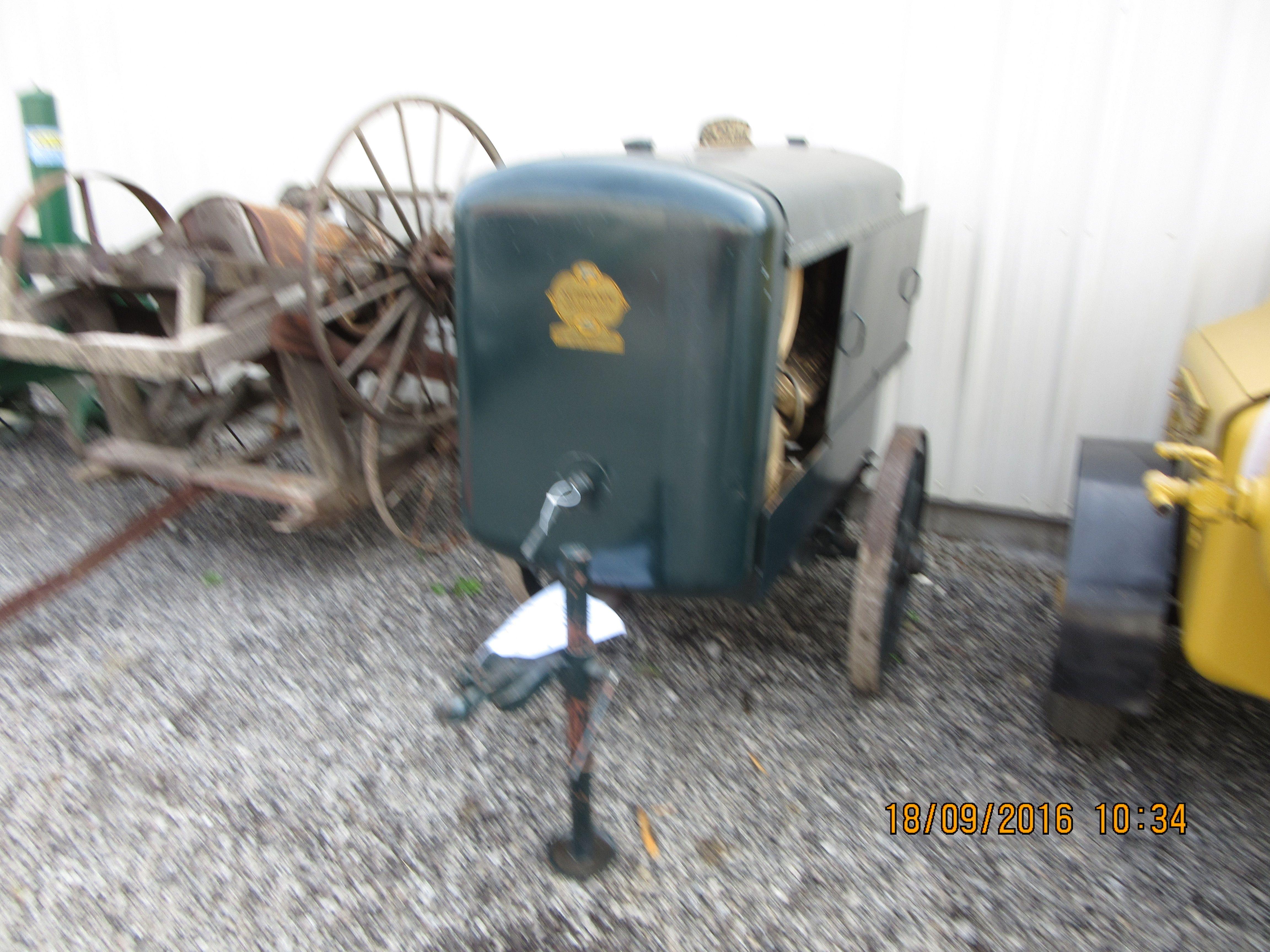 1943 Schramm FordAir 60 compressor