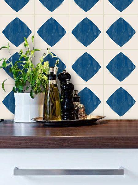 Tile Decals - Tiles for Kitchen/Bathroom Back splash - Floor decals - fliesen tapete küche