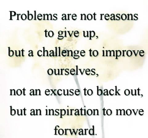 #problems are a #challenge to #improve ourselves.. #life #inspiration #motivation #quotes #thedailylife