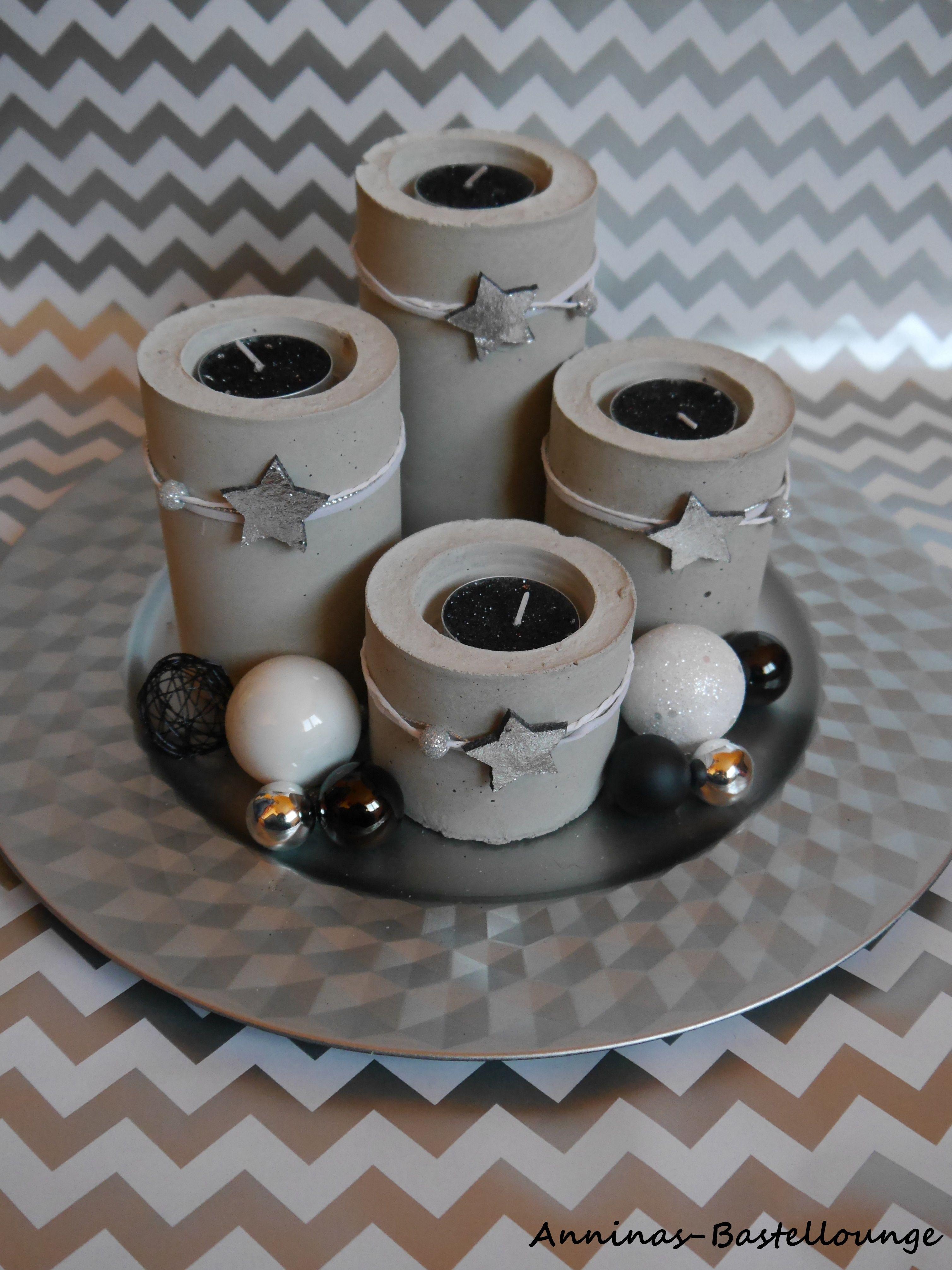 einzigartig basteln beton selber mischen design ideen garten design ideen. Black Bedroom Furniture Sets. Home Design Ideas