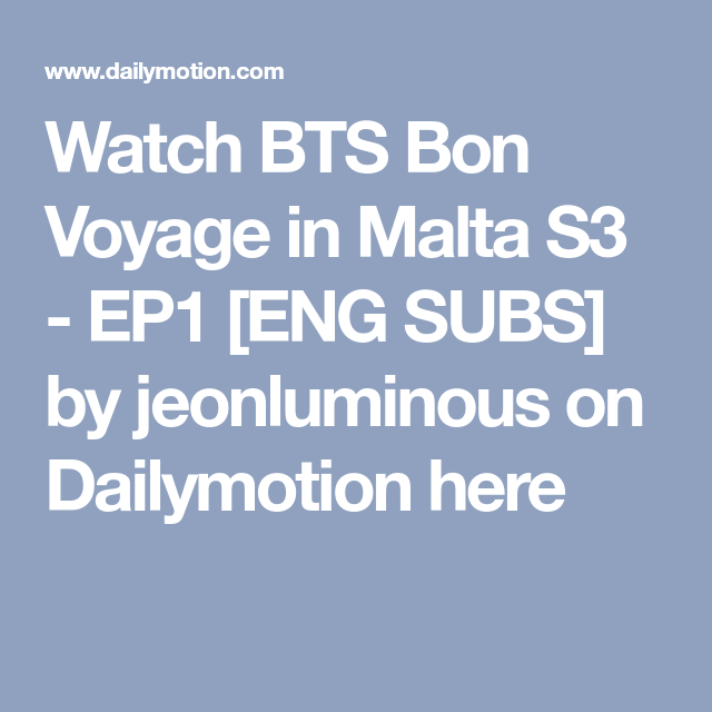 Bts Subs Dailymotion
