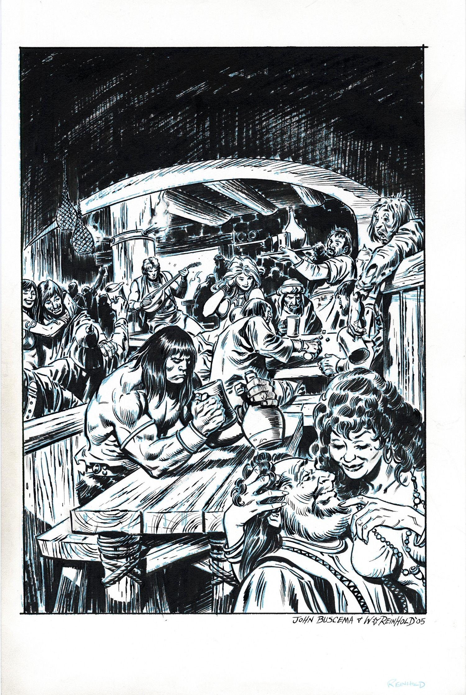 Resultado De Imagen De John Buscema Arte De Comics Ilustraciones Personajes De Pelicula