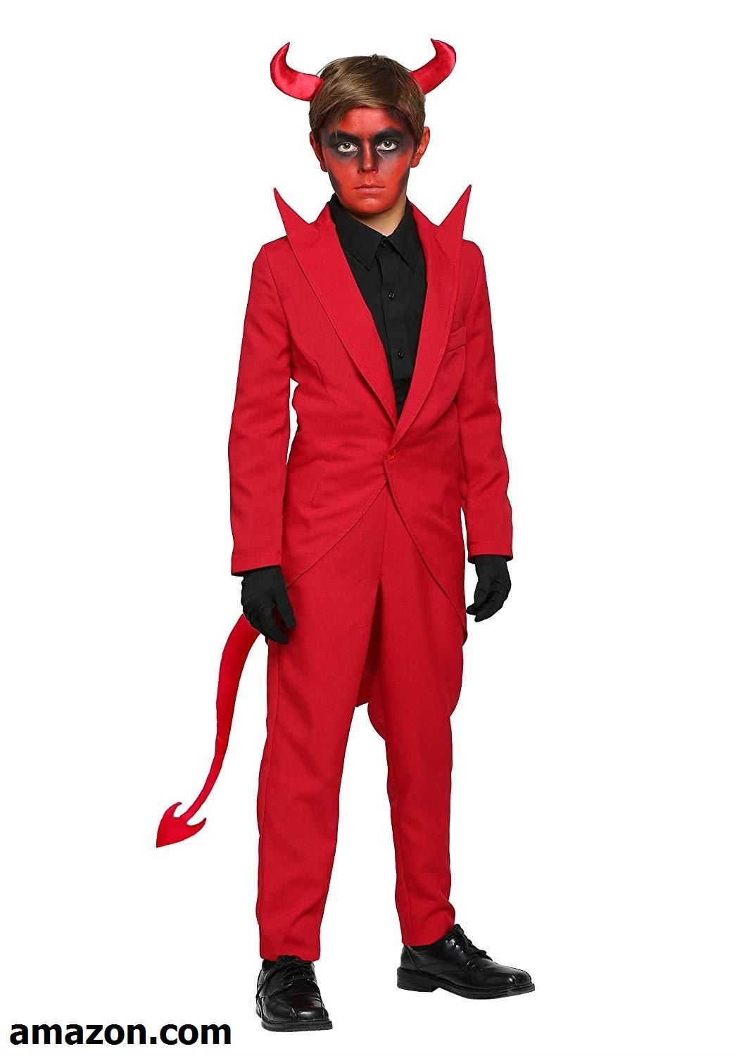 Child Red Suit Devil Costume GIRL S HALLOWEEN COSTUMES