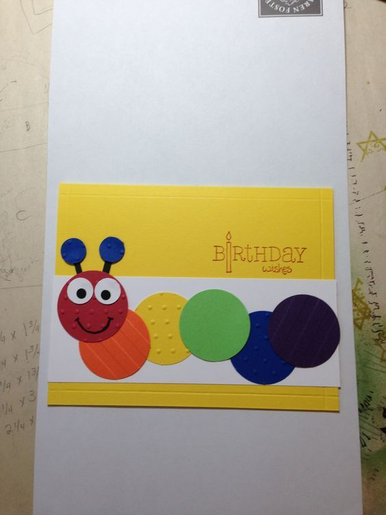 Kids Birthday Card Card Ideas For Kids Pinterest Kids S