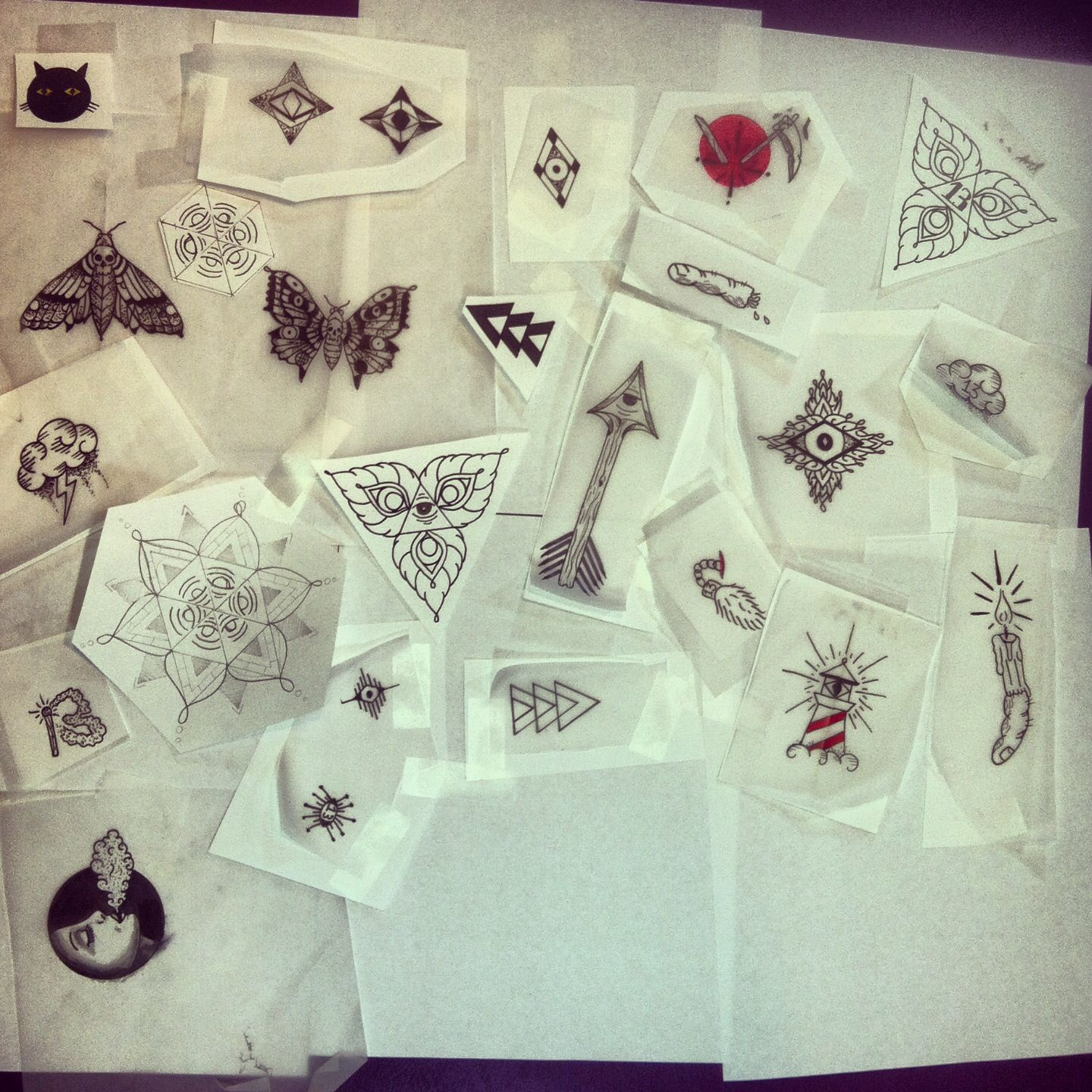 Friday the 13th tattoo designs by Oliver kenton Friday