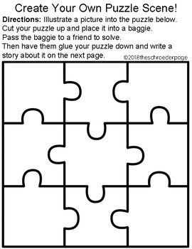literacy puzzle scenes my future classroom pinterest picture