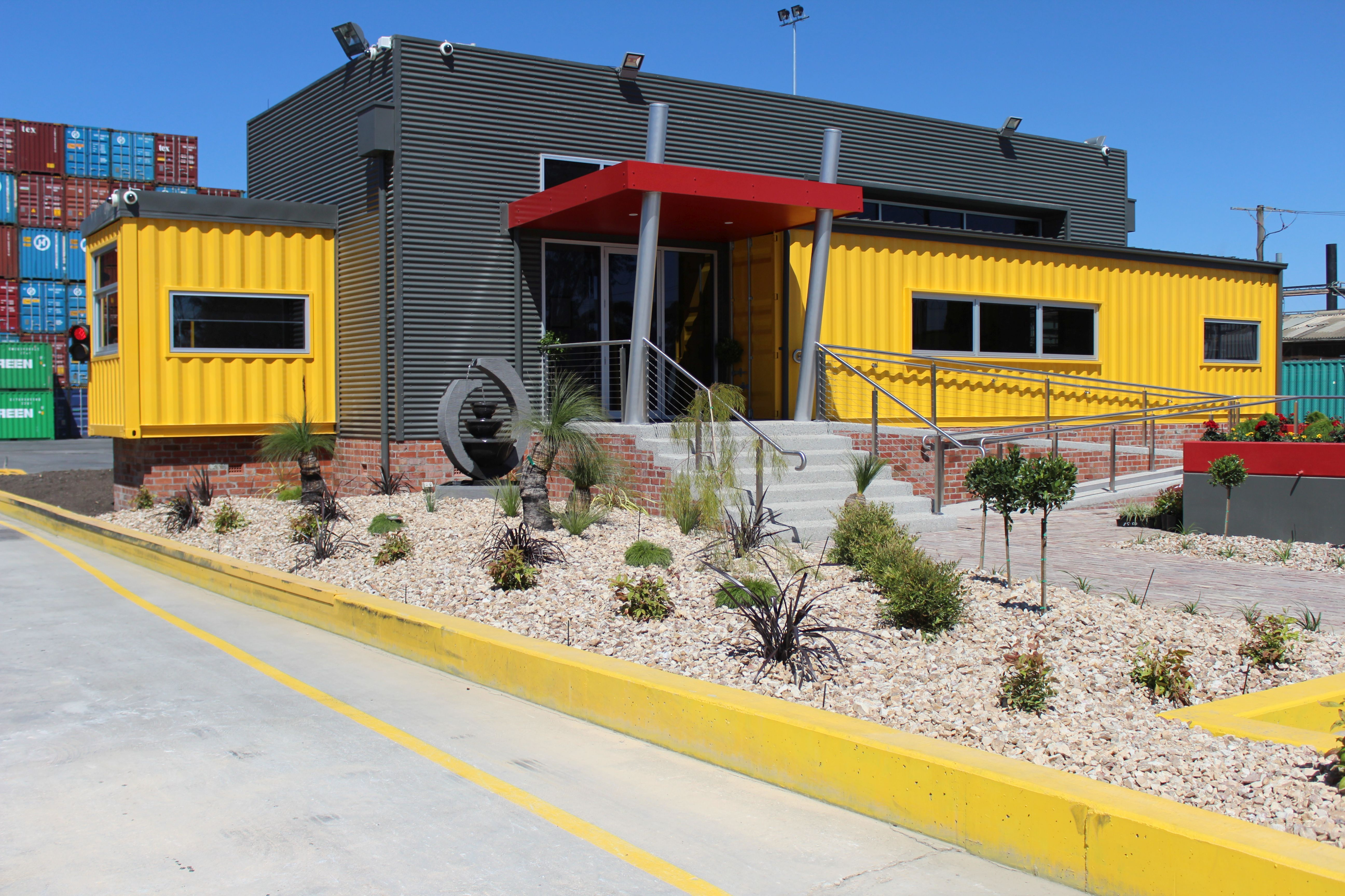 Containerspace, A Container Storage U0026 Repair Yard In Australia Has  Constructed Its Office From Shipping