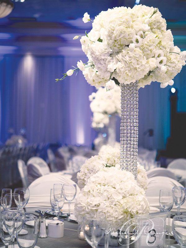 Wedding Decor Ideas With Tall Centerpieces