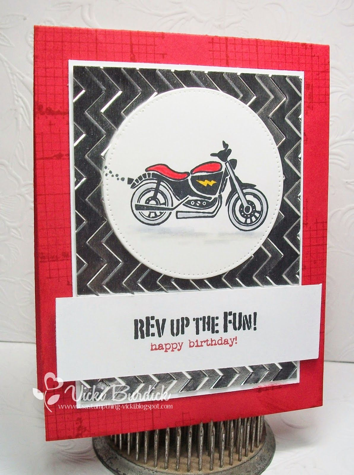 Sweet Sunday Rev Up The Fun Cards Masculine Cards And Card Ideas