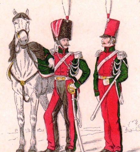 Restauration-Uniforme-Garde-Royale-Hussard-Chasseur-Artilleur-Armee ... 5e38df1aec9