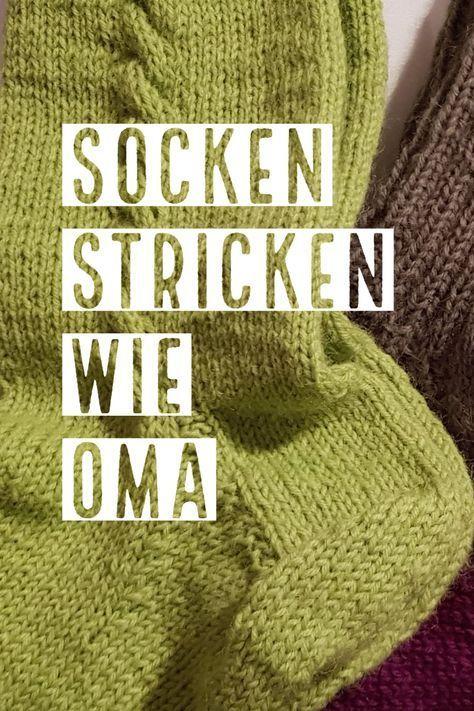 Socken stricken wie Oma mit ganz einfacher Anleitung! #strickenundhäkeln