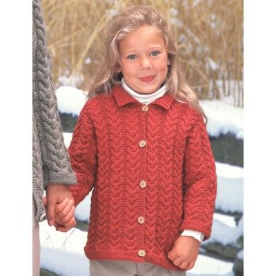 cecdec56716efa Patons Girl s Cuddly Cables Cardigan Free Knitting Pattern ...