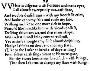 shakespeare sonnets Google Search Love