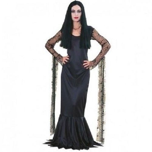rubies addams family morticia addams womens dress goth. Black Bedroom Furniture Sets. Home Design Ideas