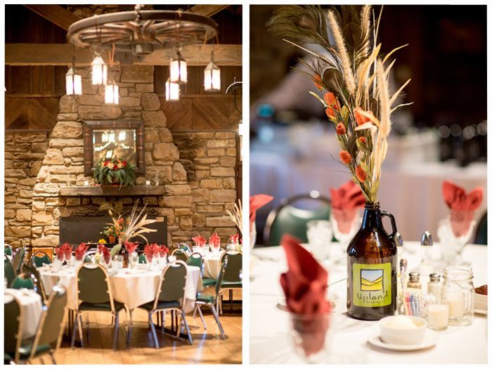Fall Wedding At An Indiana State Park Abe Martin Lodge Brown County