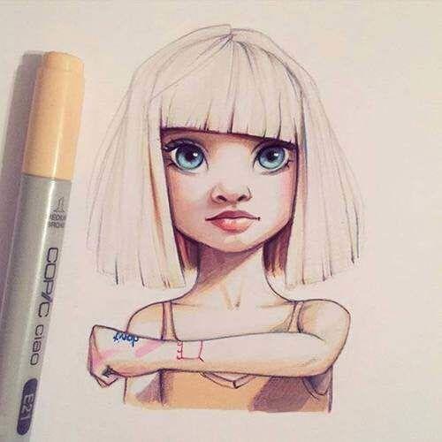 amazing art blonde blue eyes drawing