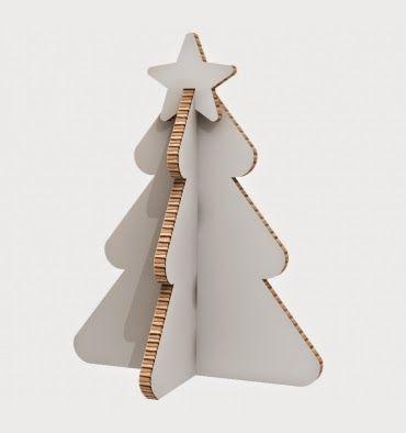 arboles de navidad de cartn - Arbol De Navidad De Carton