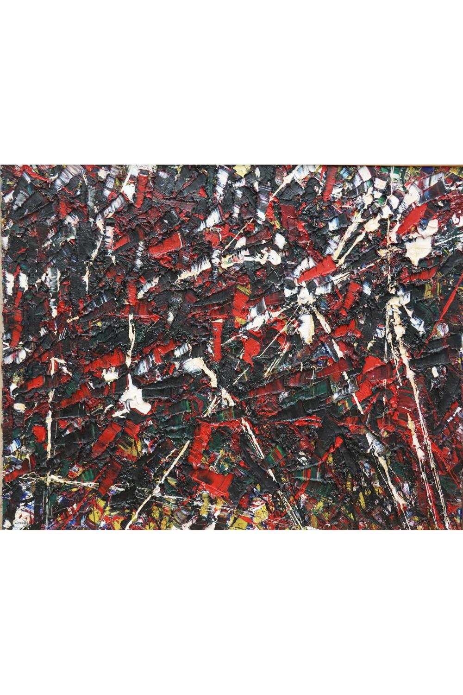 Action Painting verbindet man mit Jackson Pollock, aber der berühmteste kanadische Aktionsmaler heißt Jean-Paul Riopelle, dessen