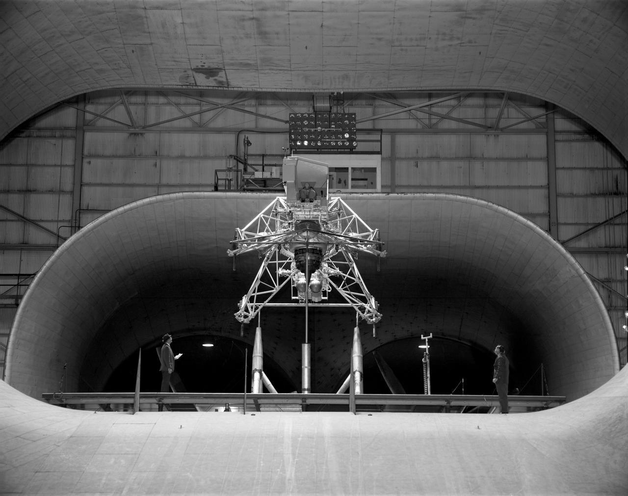 Following the crash of a sister lunar landing training