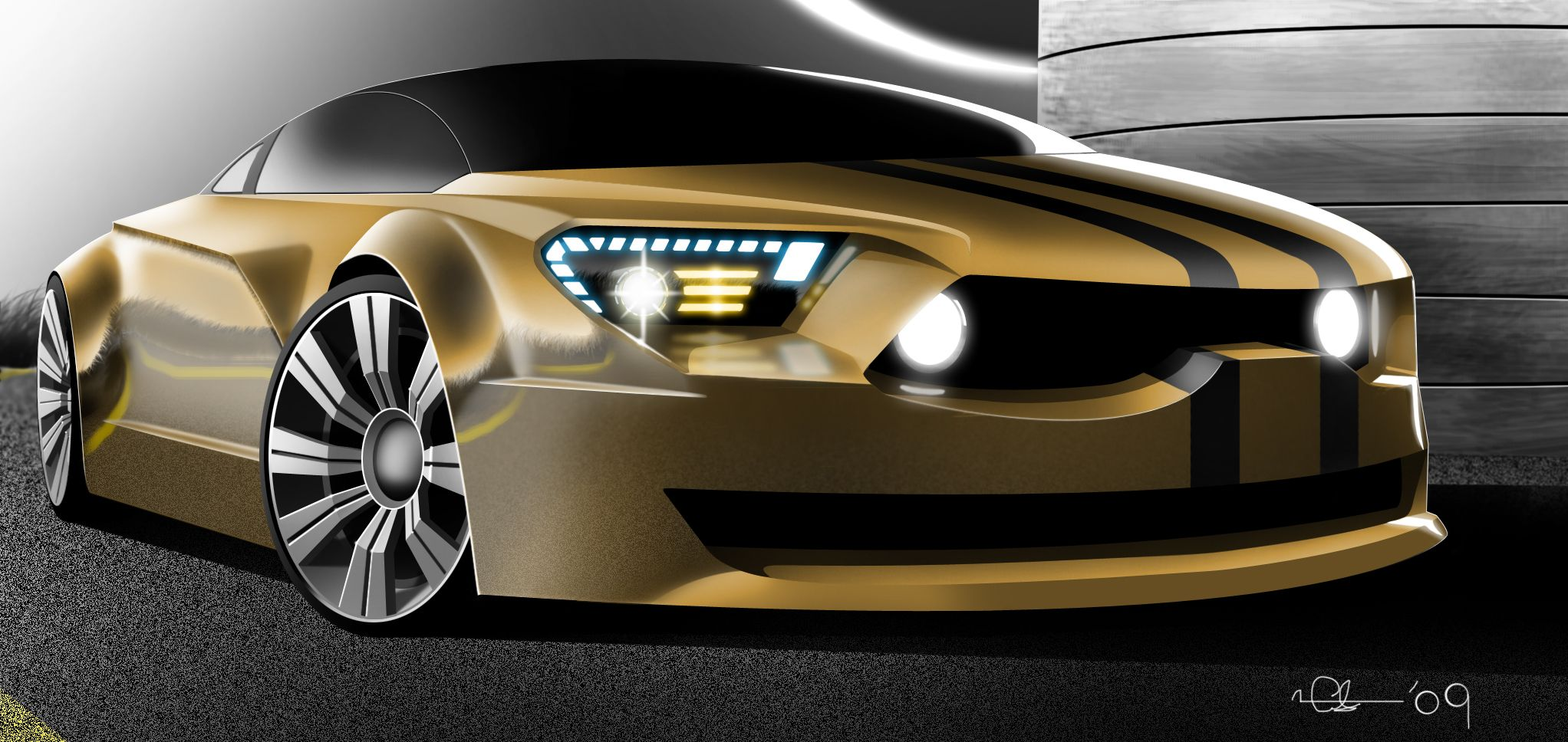 2013 Ford Mustang concept car I DONT LIKE IT AT ALL