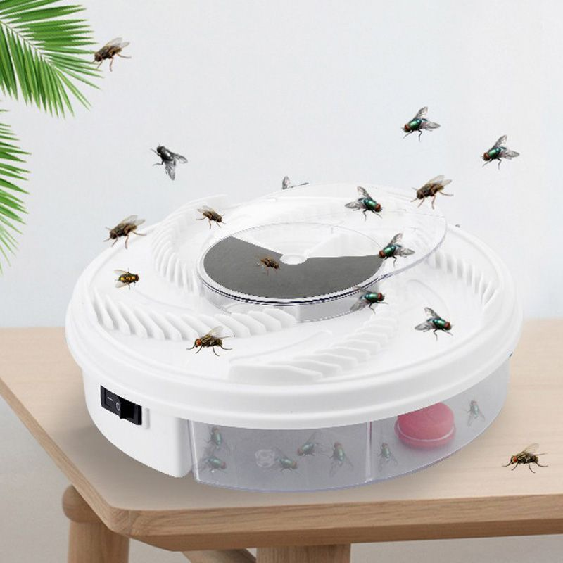 2018 New USB Automatic Flytrap Pest Catcher Bug Insect Repellents