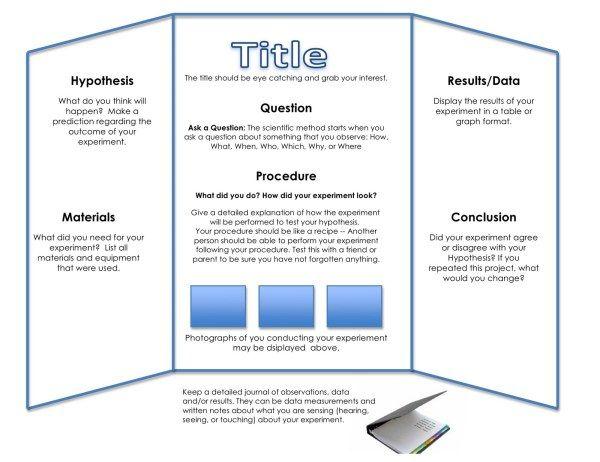 tri fold poster dimensions