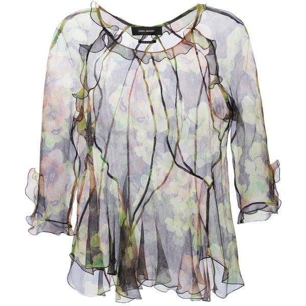 ISABEL MARANT 'Rodd' blouse