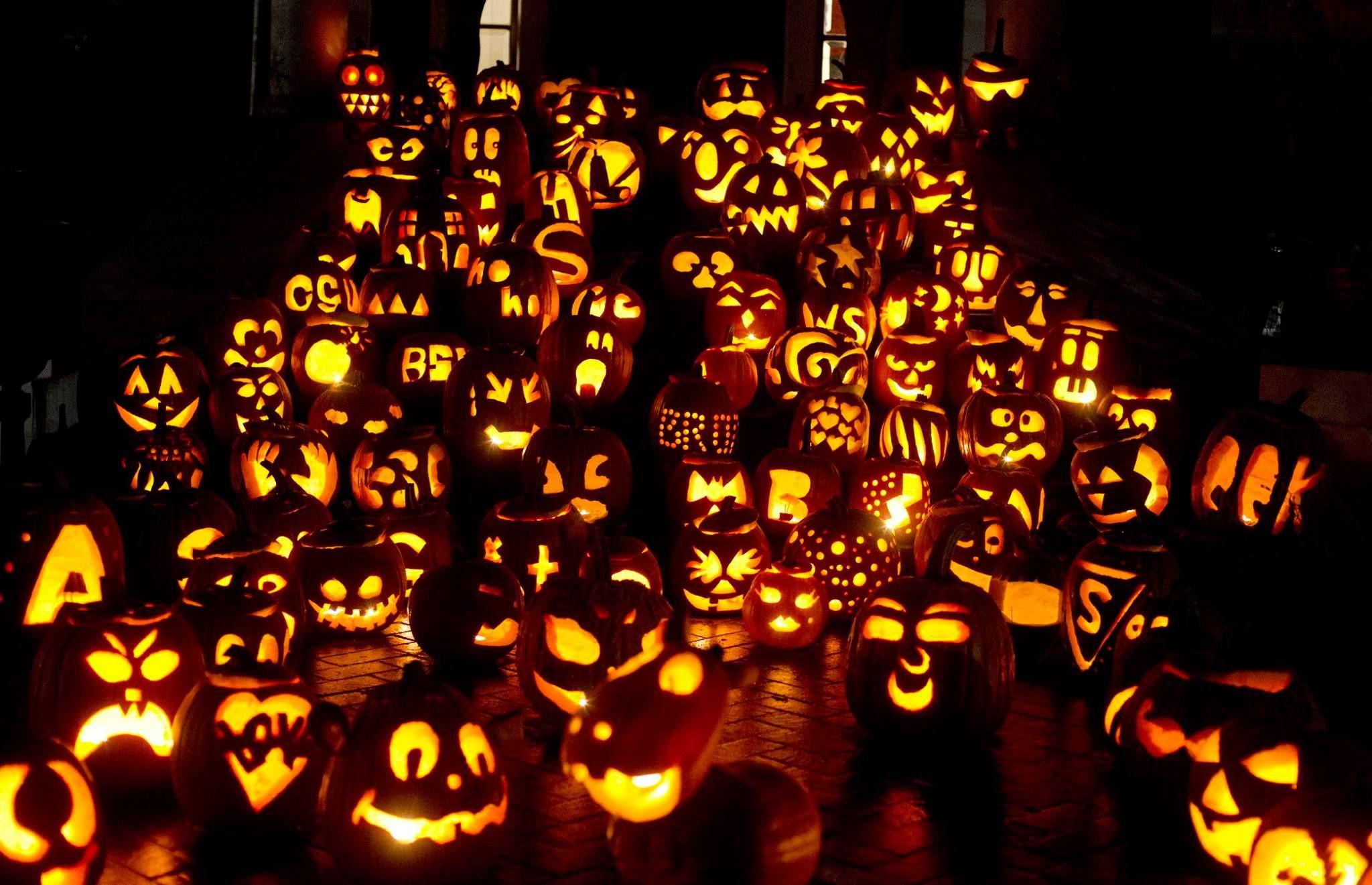 2020 Harrison Blvd Halloween Boise Idaho The Harrison Blvd. Pumpkin House all lit up! Happy Halloween