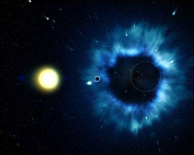 Black holes naked science