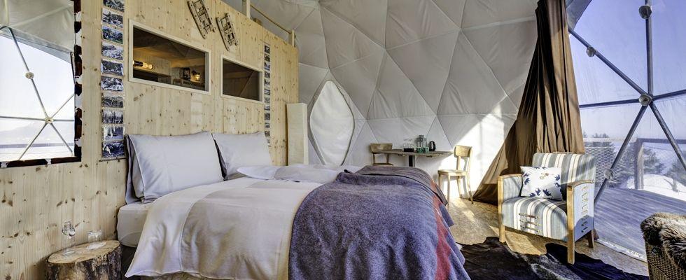 Whitepod :: Eco-luxury hotel & Alpine experience