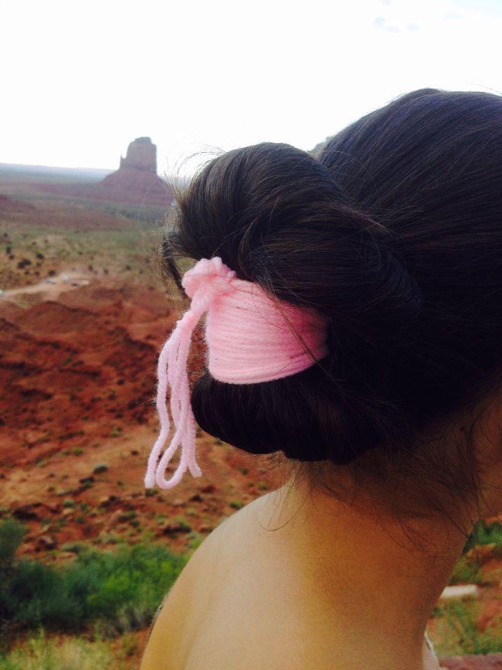 Navajo Tribal Bun Native American Hair Hair Styles Long Hair Dos