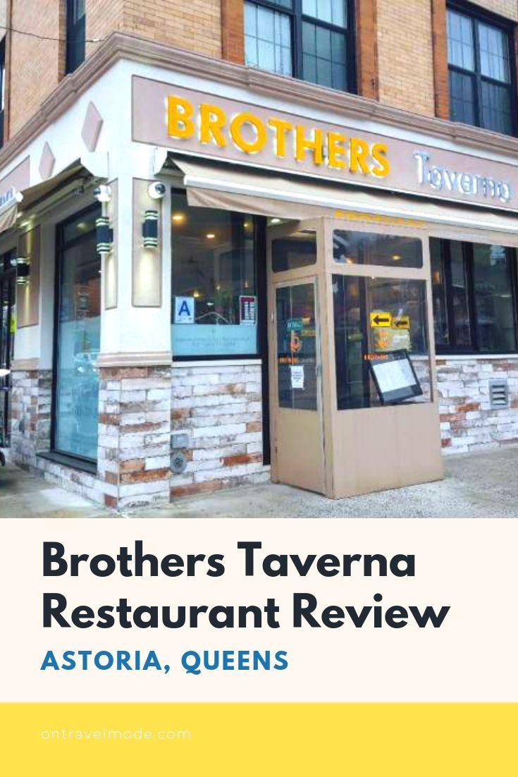 Brothers Taverna In Astoria, Queens