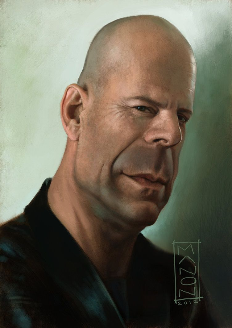 686553bc7272e Bruce Willis by  ArtByManon on deviantART