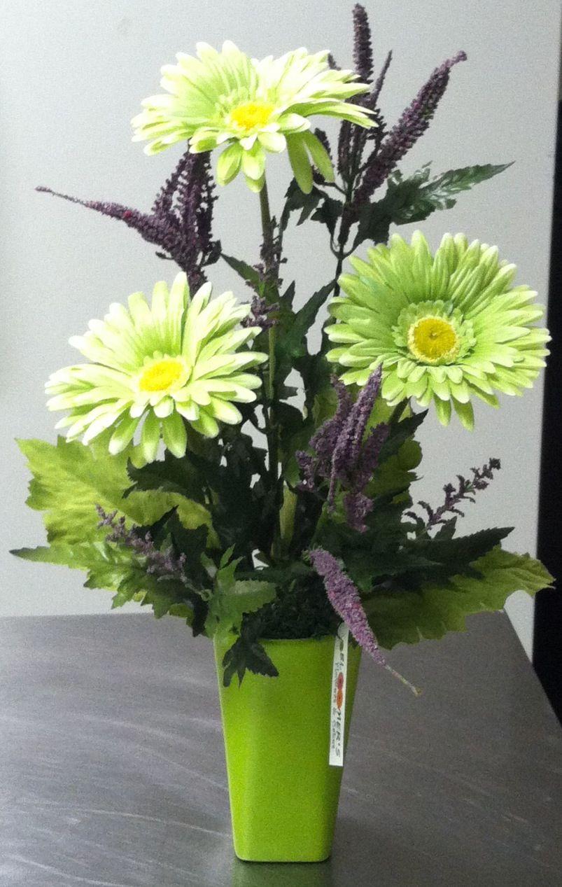 Gerber daisy flower arrangement bloomers inc pinterest flower gerber daisy flower arrangement izmirmasajfo