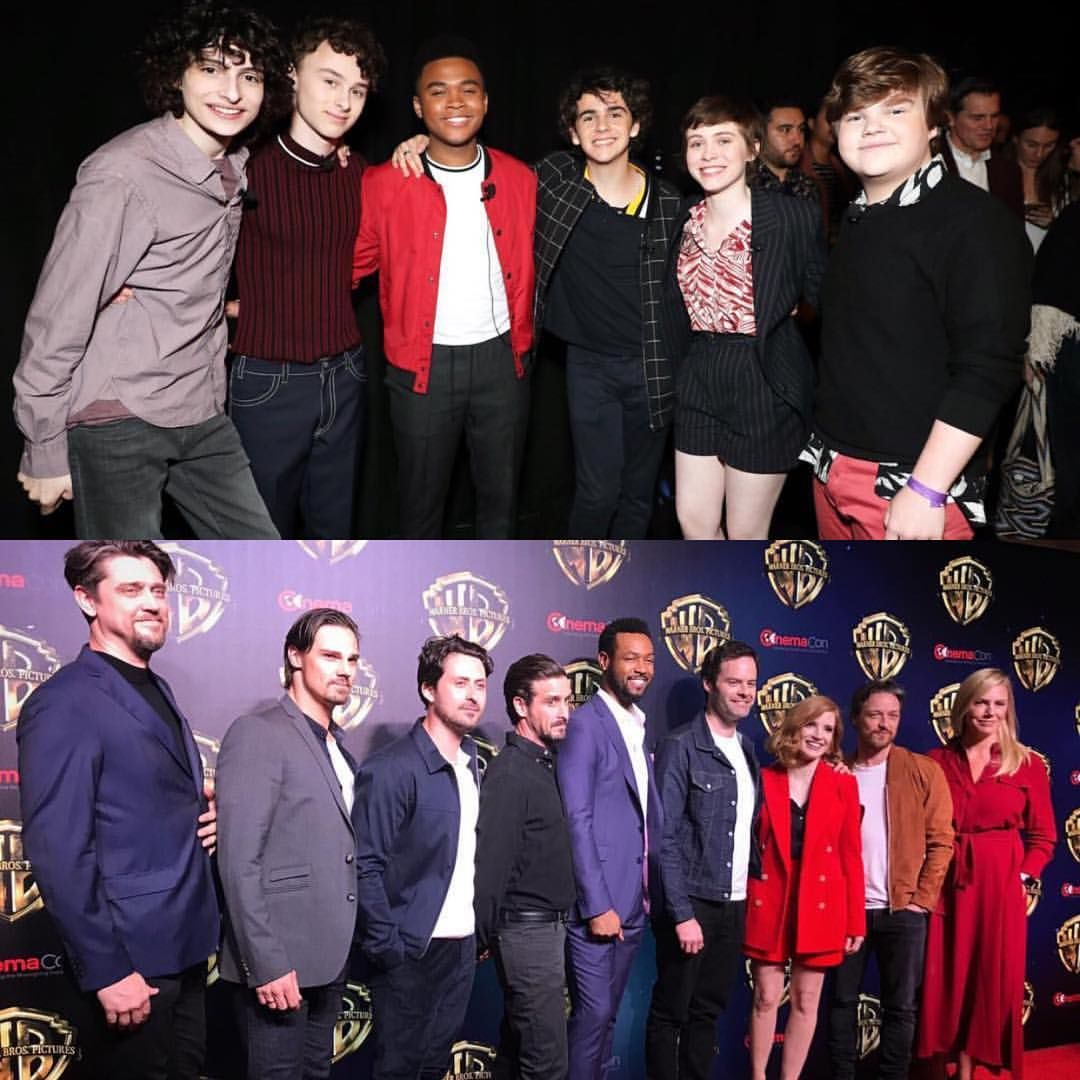 The Cast Of Itmovie At Cinemacon 2019 It Movie Cast It Cast Stephen King