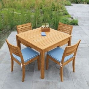 pin by scade concepts on modern teak outdoor dining set pinterest