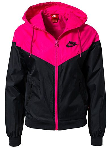 816366ae6ae26 Nike Windrunner - Nike - Black/Pink - Jackets And Coats - Sports Fashion -  Women - Nelly.com Uk