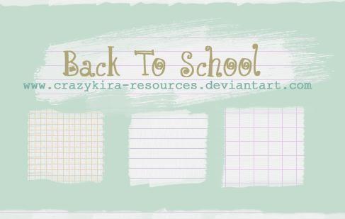Line Notebook Patterns Photoshop PAT File ◇PS Pattern_bg - line paper background
